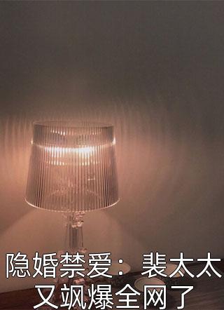 隐婚禁爱:裴太太又飒爆全网了小说